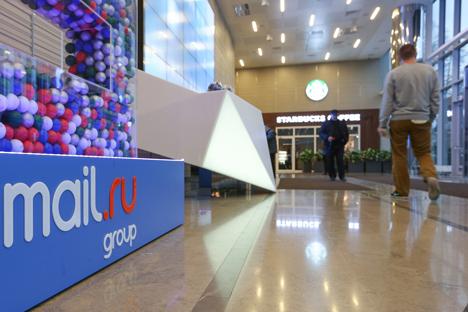 Mail.ru muncul pertama kali pada 1998 sebagai layanan email, namun kemudian berkembang menjadi pemain besar di internet berbahasa Rusia. Sumber: PhotoXpress