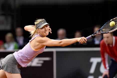 Maria Sharapova menempati peringkat sembilan dalam peringkat WTA terbaru. Foto: DPA/Vostock-Photo