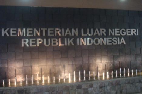 Di Kementerian Luar Negeri kami bertemu dengan penyelenggara program, mereka bercerita kepada kami tentang budaya Indonesia, etiket lokal, bahkan ada kelas tentang kata-kata dasar dalam bahasa Indonesia. Foto: penulis