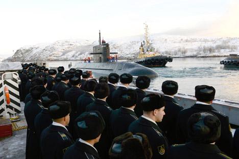 Rusia sedang dalam proses menciptakan rudal balistik berbahan bakar padat untuk angkatan lautnya di masa mendatang. Sumber: PhotoXPress