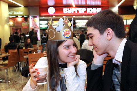 Saat ini belum ada restoran Burger King di Krimea meskipun restoran ini telah beroperasi dengan sekitar 200 restoran di seluruh Rusia. Foto: Vladimir Fedorenko/RIA Novosti