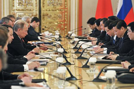 Asia dapat benar-benar menjadi pengganti yang tepat untuk pasar Eropa bagi Rusia. Kredit: Reuters