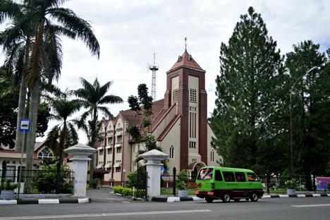 Gereja Protestan di Bogor. Foto: penulis