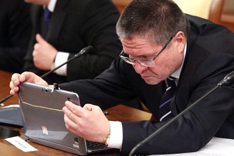 Ahli ekonomi dari Dana Moneter Internasional (IMF) menyimpulkan bahwa ekonomi Rusia telah memasuki resesi. Foto: Oleg Prasolov/RG