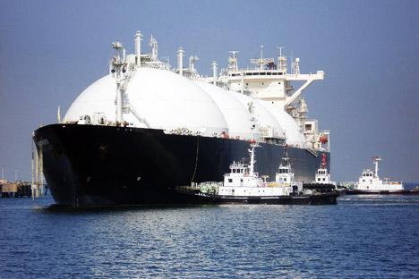 Pengembangan teknologi produksi LNG bertujuan agar Rusia dapat menemukan pembeli baru sumber energi Rusia. Foto: AFP/Eastnews