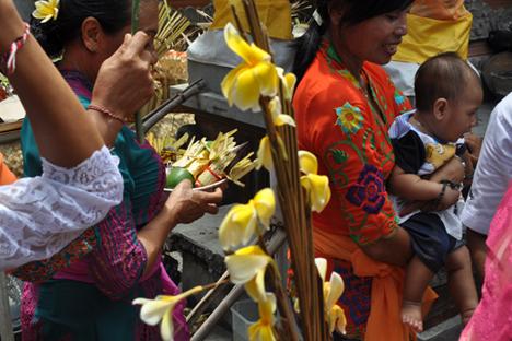 Ketika saya pertama kali tiba di Bali, saya tidak tahu apa pun tentang agama Hindu. Foto: penulis
