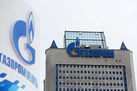 Turunnya harga saham Gazprom membuat perusahaan ini menjadi obyek yang menggiurkan bagi Dinasti Rothschilds. Foto: Alexey Kudenko/RIA Novosti