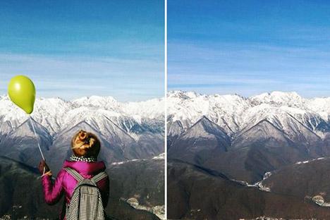 Putuskan sendiri mana yang bisa membuat teman Instagram Anda paling terkesan. Kaukasus/Instagram: @russian_moscow