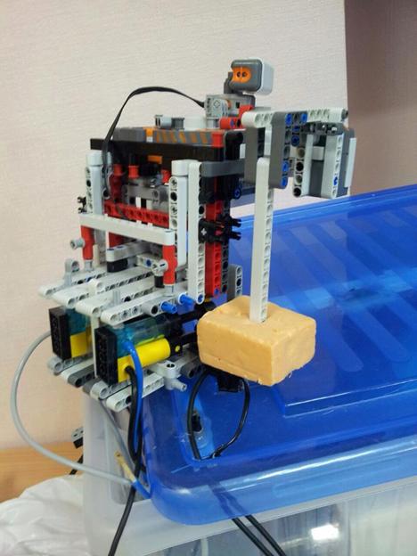 LEGO Flood Saver (robot penyelamat banjir). Foto: Press Photo