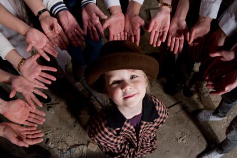 Moscow Children's Shadow Theatre didirikan pada 1944. Foto: Alexander Savelyev