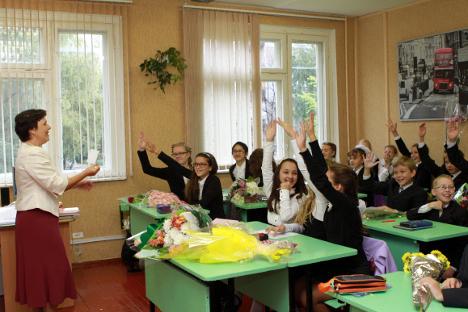 Pada akhir tahun ajaran 2013 lalu, Presiden Rusia Vladimir Putin menyatakan bahwa pendidikan yang berhubungan dengan ilmu pasti perlu diberi perhatian khusus. Foto: RG