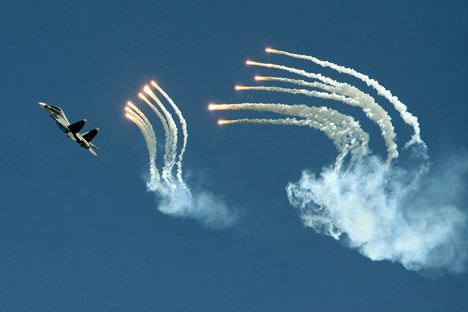 Aviadarts, Unjuk Kemampuan Akurasi Pilot Rusia