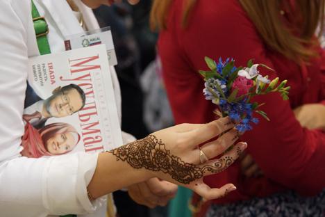 Moscow Halal Expo dilaksanakan di Rusia secara rutin setiap tahun sejak 2010. Foto: Olga Sokolova