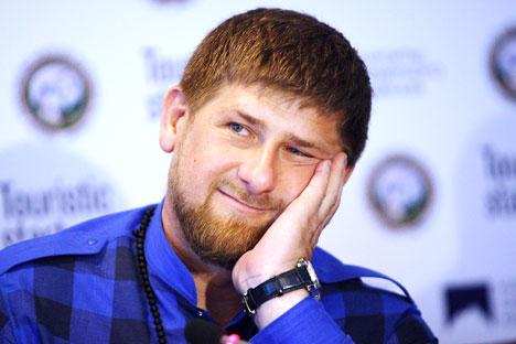Presiden Chechnya Ramzan Kadirov. Foto: RIA Novosti