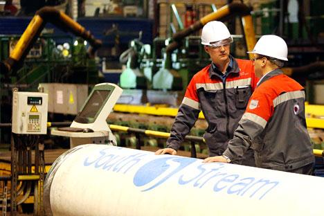 Tugas Rusia di tahap ini adalah memperkuat dan mempertahankan dukungan negara Uni Eropa terhadap proyek South Stream. Foto: Reuters