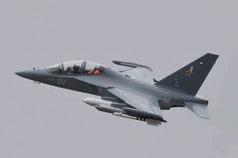 Suriah telah memberi uang muka sebesar 100 juta dolar AS untuk 6 unit pesawat YAK-130 pada Rusia. Foto: Wikipedia