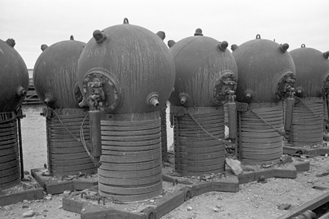 Para pengembang senjata ranjau laut asal Uni Soviet telah mencatatkan dirinya dalam sejarah di Perang Dunia. Foto: Wikipedia