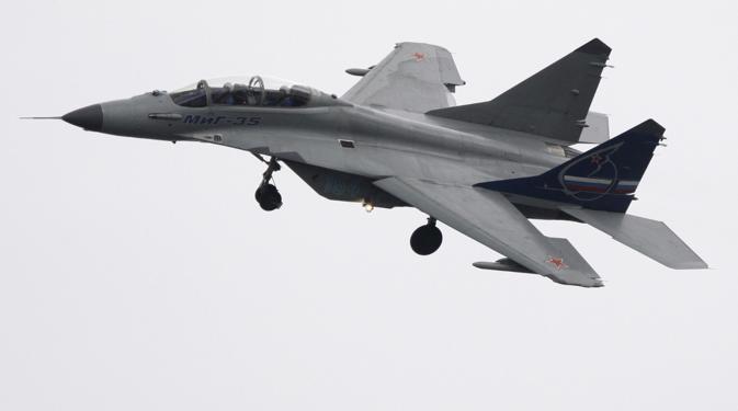 MiG-35 adalah pesawat tempur canggih yang diklasifikasikan sebagai jet tempur generasi 4++.