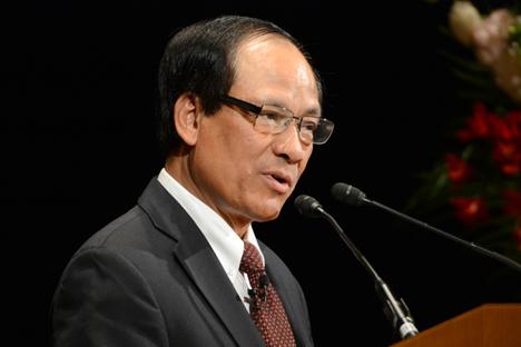 Sekretaris Jenderal ASEAN H.E. Le Luong Minh menyambut partisipasi aktif Rusia di kawasan Asia-Pasifik. Foto: AFP/East News