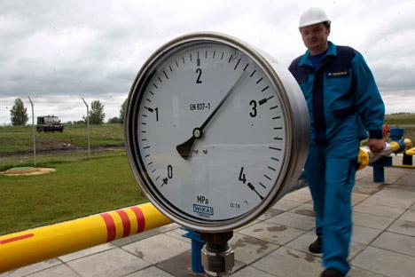 Eropa mengurangi jumlah pasokan gas untuk Ukraina karena mereka sendiri sedang membutuhkannya. Foto: AP