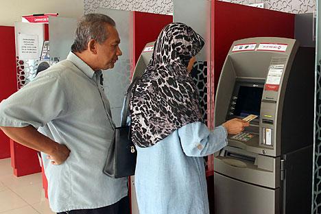 Di Rusia, perbankan syariah saat ini paling berkembang di Republik Tatarstan. Di sana, sepertiga perjanjian bisnis dibuat berdasarkan norma syariah. Foto: Getty Images/Fotobank