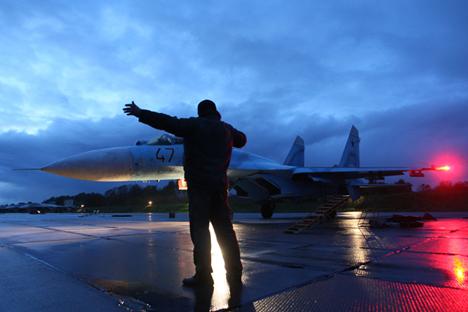 Irak memilih Rusia sebagai pemasok pesawat tempur karena mereka berseberangan dengan Amerika Serikat dan situasi genting menyelimuti Baghdad. Foto: ITAR-TASS