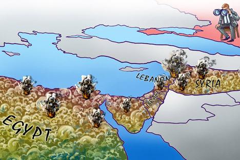 Rusia Berkepentingan Menjaga Stabilitas Timur Tengah