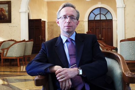 Duta Besar Rusia untuk Indonesia Mikhail Galuzin menilai sanksi Barat terhadap Rusia, termasuk larangan ekspor, telah menjadi bumerang bagi pihak Barat sendiri. Foto: Fauzan Al-Rasyid/RBTH Indonesia