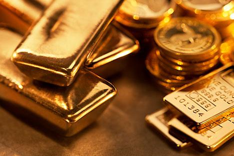 Menurut WGC, dalam periode enam bulan, Rusia telah meningkatkan cadangan emasnya sebesar 54 ton. Foto: Getty Images/Fotobank