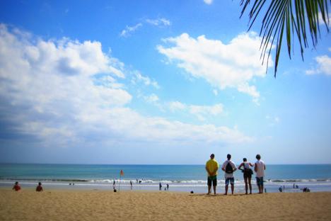 Jumlah wisatawan Rusia yang mengunjungi Bali terus meningkat setiap tahunnya. Foto: Shintya Felicitas/RBTH Indonesia