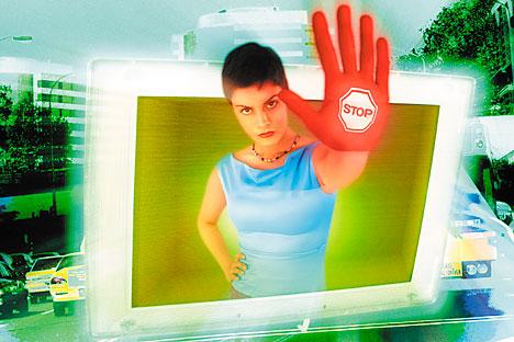Sebuah program khusus dapat mengenali konten dewasa di internet dan memblokir aksesnya untuk anak-anak. Foto: Getty Images/Photobank