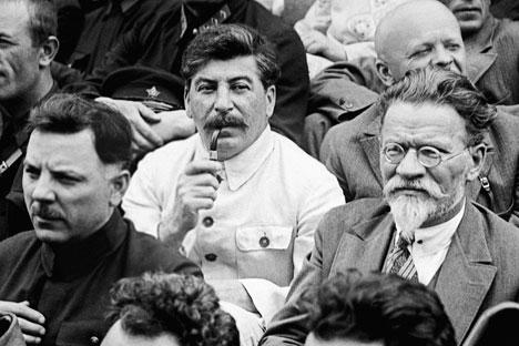 Joseph Stalin di Kongres Petani Soviet, 1933. Foto: RIA Novosti
