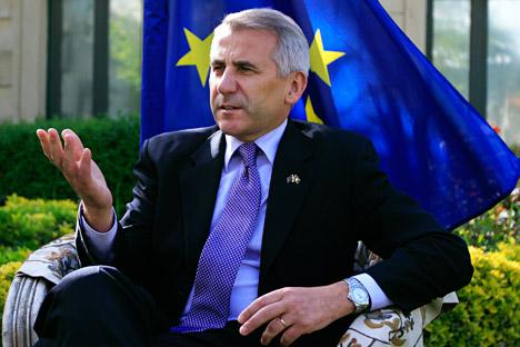 Kepala Delegasi Uni Eropa di Rusia Vygaudas Ušackas yakin bahwa selisih pendapat antara Moskow dan Brussel bersifat sementara. Foto: Reuters