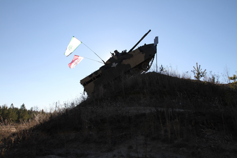 BMD-4M berbeda dari tiga pendahulunya, ia memiliki persenjataan yang lebih hebat dan cadangan amunisi yang lebih besar. Foto: Concern Tractor Plants