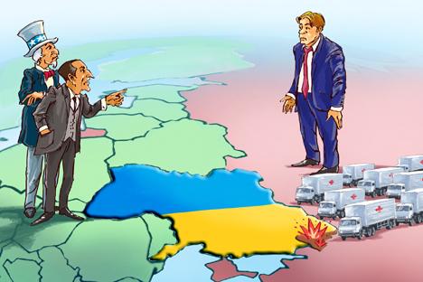 Mengapa Barat Tak Peduli pada Penduduk Donbass?