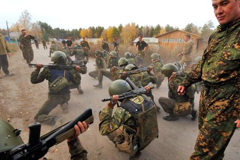 Tentara Rusia Hadapi 'Tantangan di Neraka' Demi Dapatkan Baret Merah