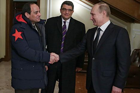 Hubungan kerja sama Rusia di bidang persenjataan dengan Kairo ini sebenarnya sudah direncanakan sejak lama. Foto: Mikhail Metzel/RIA Novosti