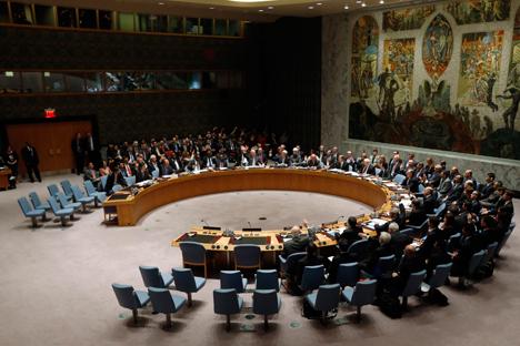 Sidang Umum ke-69 PBB akan berlangsung dengan agenda yang sangat padat dan diharapkan membuahkan hasil yang substantif. Foto: Reuters/Vostock photo