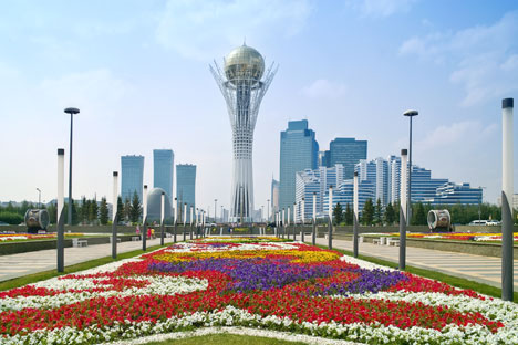 Astana, Kazahstan. Foto: Alamy/Legion Media
