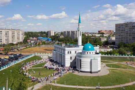 Masjid Yardem, 'Pertolongan' bagi Muslim Tunanetra Rusia