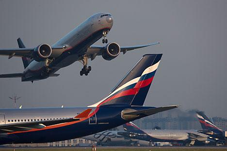 Aeroflot, maskapai terbesar Rusia, telah memutuskan untuk tidak mengembangkan merek maskapai murah baru. Foto: Maxim Blinov/RIA Novosti