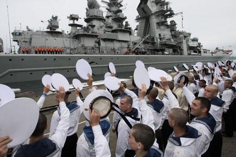 Selain dikembangkan khusus untuk kapal-kapal perang milik Angkatan Laut Rusia yang memiliki persenjataan rudal jarak jauh, kompleks ini juga akan digunakan untuk memperkuat sistem pertahanan pinggir pantai yang menggunakan persenjataan rudal. Foto: RIA Novosti