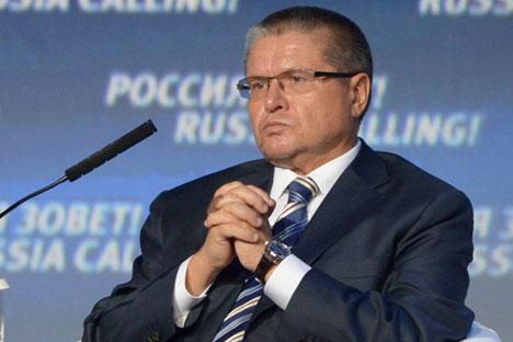 Alexei Ulyukayev: Rusia telah memasuki periode ekonomi yang baru, dan pemerintah perlu mengencangkan ikat pinggang. Foto: RIA Novosti