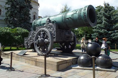 Beberapa sejarawan meyakini meriam ini digunakan pada 27 Mei 1606. Foto: Fauzan Al-Rasyid/RBTH Indonesia