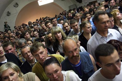 Mayoritas warga Rusia menunjukkan sikap negatif terhadap AS. Foto: ITAR-TASS