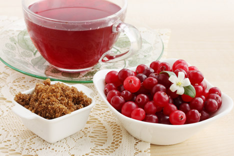 Cranberry mors, minuman buah beri tak bersoda khas Rusia. Foto: Lori/Legion Media