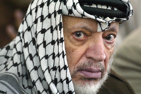 Pada era Uni Soviet, Yasser Arafat cukup dikenal setelah kunjungan pertamanya ke Moskow pada 1968. Foto: AFP/East News