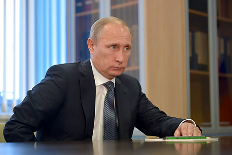 "Putin: ""We have even worked together with the Free Syrian Army (FSA)"". Source: Alexey Druzhinin/TASS"