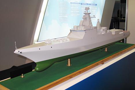 """Pengerjaan """"Penguasa Laut"""" Rusia ini dipercayakan pada Northern Design Bureau, pencipta hampir semua kapal perang permukaan utama di armada Rusia. Foto: Vladimir Scherbakov"""