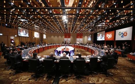 KTT Brisbane akan sama tegangnya dengan pertemuan G20 sebelumnya di St. Petersburg.